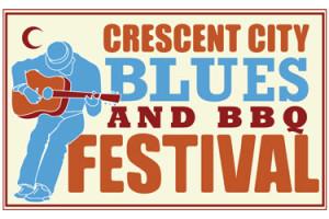 Crescent City Blues & BBQ Festival New Orleans Logo
