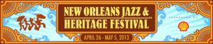New Orleans Jazz & Heritage Festival 2013 Logo