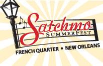 Satchmo Summerfest 2013 New Orleans Festival Logo