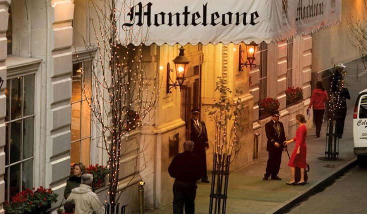 Hotel Monteleone French Quarter New Orleans Hotel Exterior