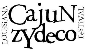 Louisiana Cajun Zydeco Festival New Orleans Logo
