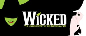 Wicked the Musical Broadway in New Orleans Logo
