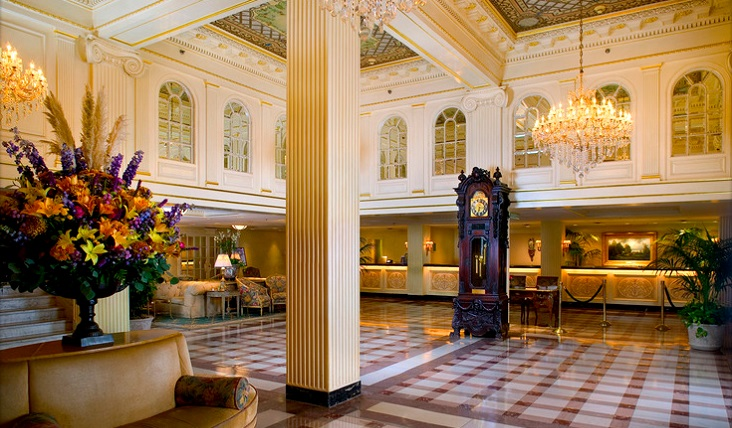 Hotel Monteleone French Quarter New Orleans Hotel Lobby