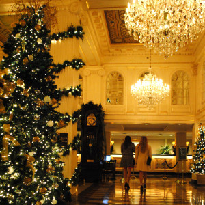Hotel Monteleone Christmas in New Orleans