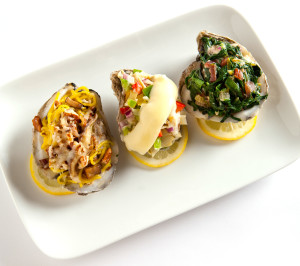 Criollo Restaurant Black Bay Oysters Trio