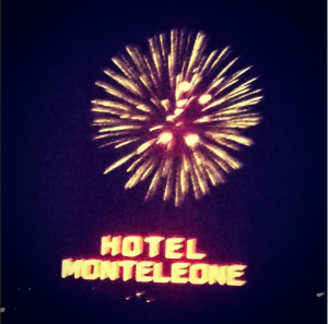 Hotel Monteleone New Orleans New Years Eve Fireworks