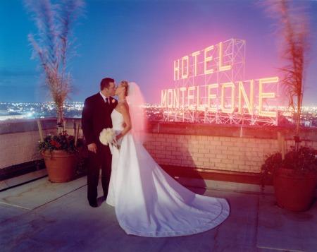 HM rooftop wedding