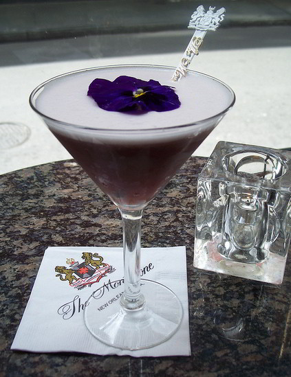 Make this refreshing spring cocktail recipe at home, or enjoy one in New Orleans at the world famous Carousel Bar at Hotel Monteleone in the French Quarter!