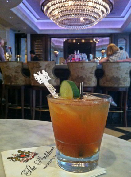 Make this Pimm's Cup Cocktail Recipe at home, or enjoy one in New Orleans at the world famous Carousel Bar at Hotel Monteleone in the French Quarter!