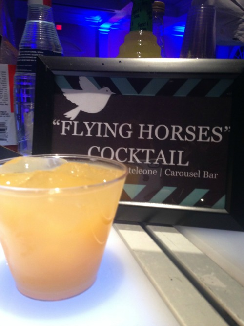 Carousel Bar Flying Horses Cocktail
