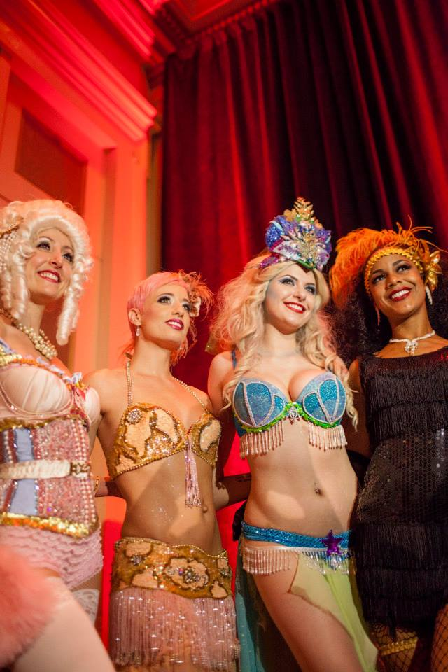 Local burlesque stars Trixie Minx & Bella Blue will perform at The Big Gateaux Show during NOWFE 2016. (Photo courtesy NOWFE)