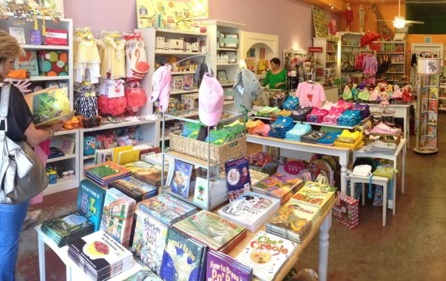 Local boutique Nola Kids features adorable gifts, clothes and books for children. (Photo courtesy Nola Kids on Yelp)