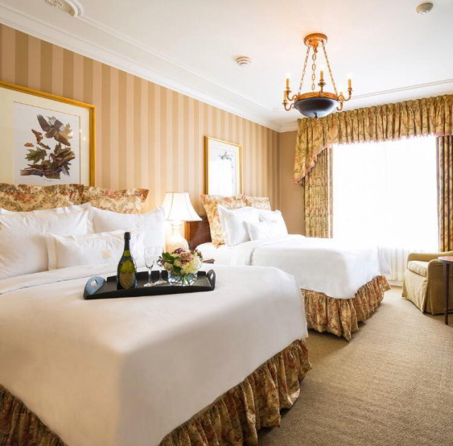 Enjoy our luxurious guest rooms at Hotel Monteleone
