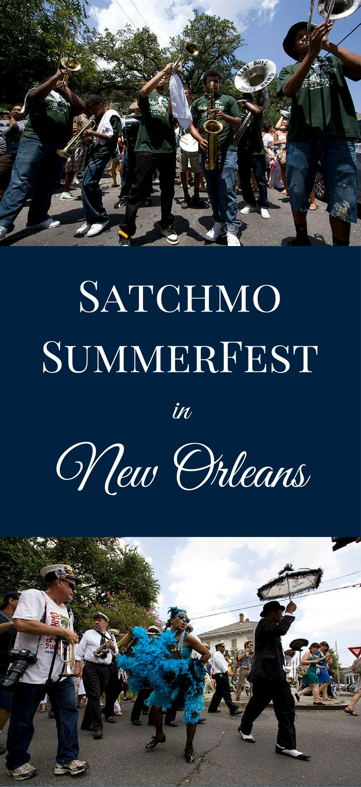 Satchmo SummerFest honors New Orleans' most famous son, Louis Armstrong, with 3 days of music, food, and fun, each August in the French Quarter.