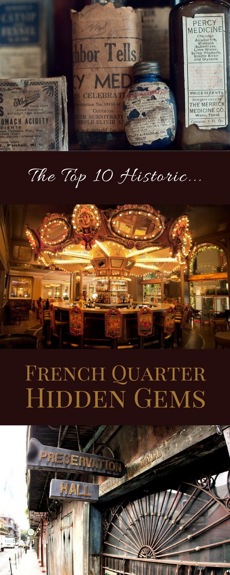 Scope them out all in one day, or tackle them a few at a time: these are the top 10 historic hidden gems in the French Quarter of New Orleans.