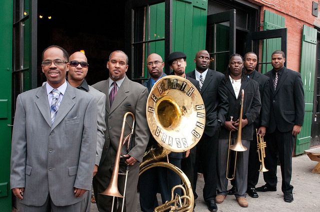 The Rebirth Brass Band. Photo: Jeffery Dupuis