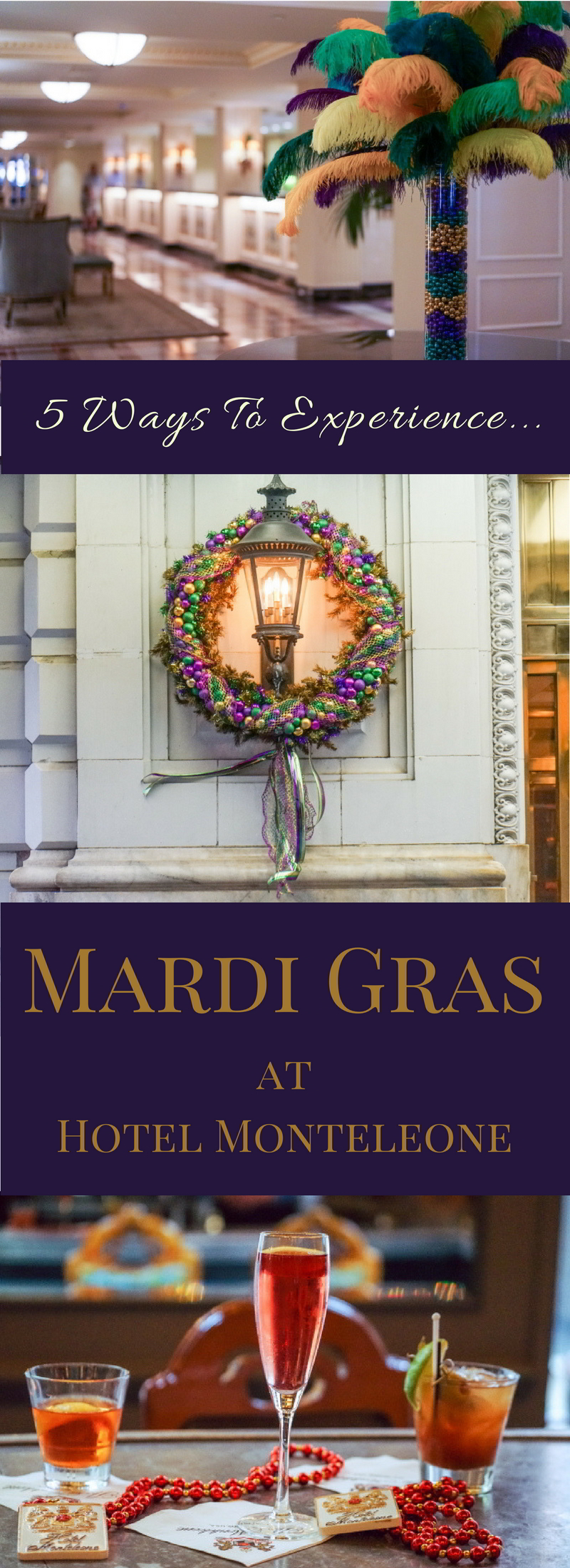 You won't need to travel far and wide to experience Mardi Gras in New Orleans. Check out 5 ways to experience Mardi Gras at Hotel Monteleone.