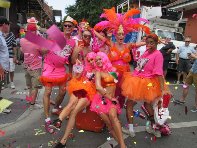 Southern Decadence is the highlight of Labor Day weekend in the French Quarter. Photo courtesy Infrogmation.