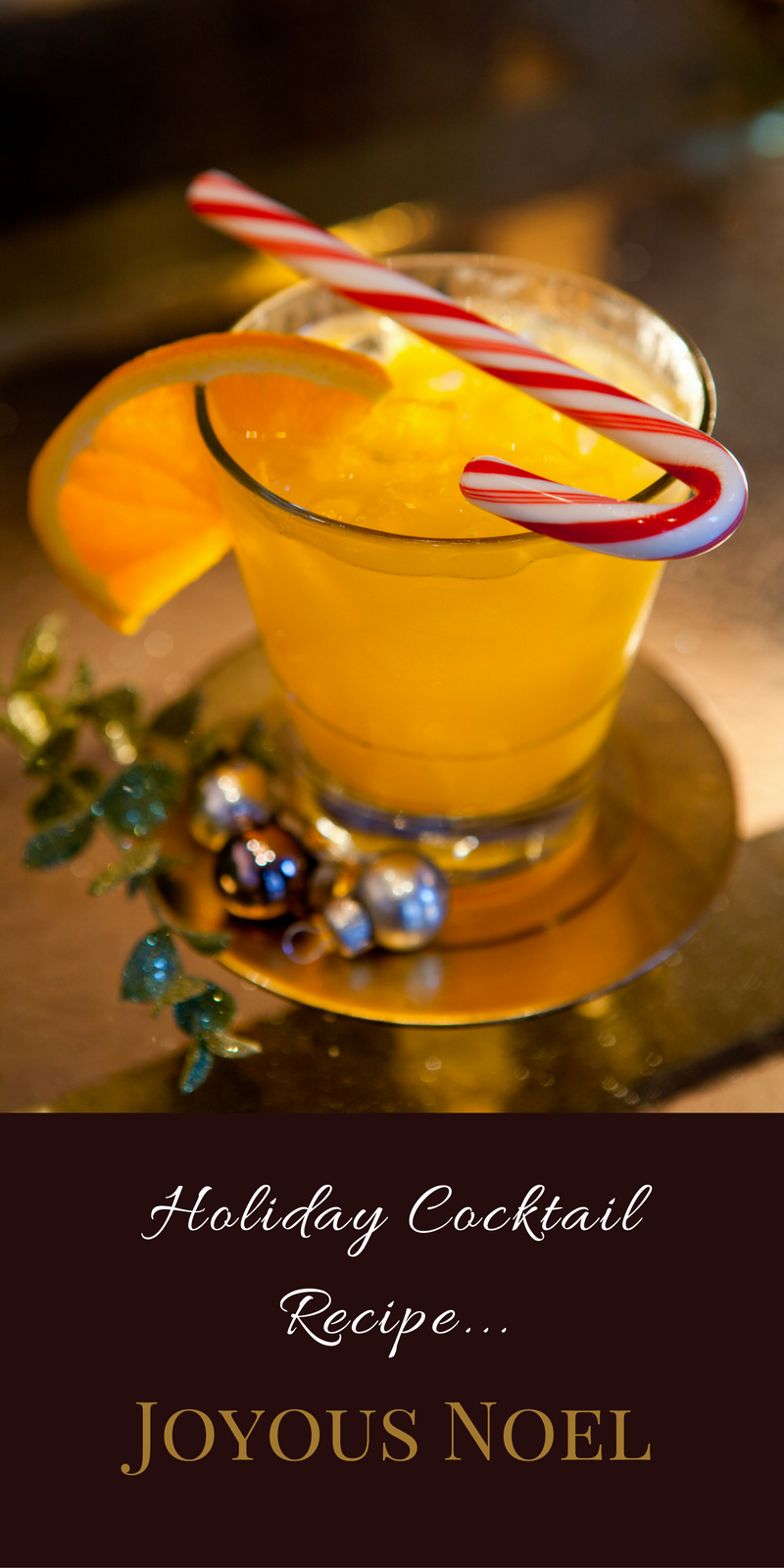 Learn how to make this year's favorite holiday cocktails, including the Joyous Noel, with these easy and festive recipes from the Carousel Bar.