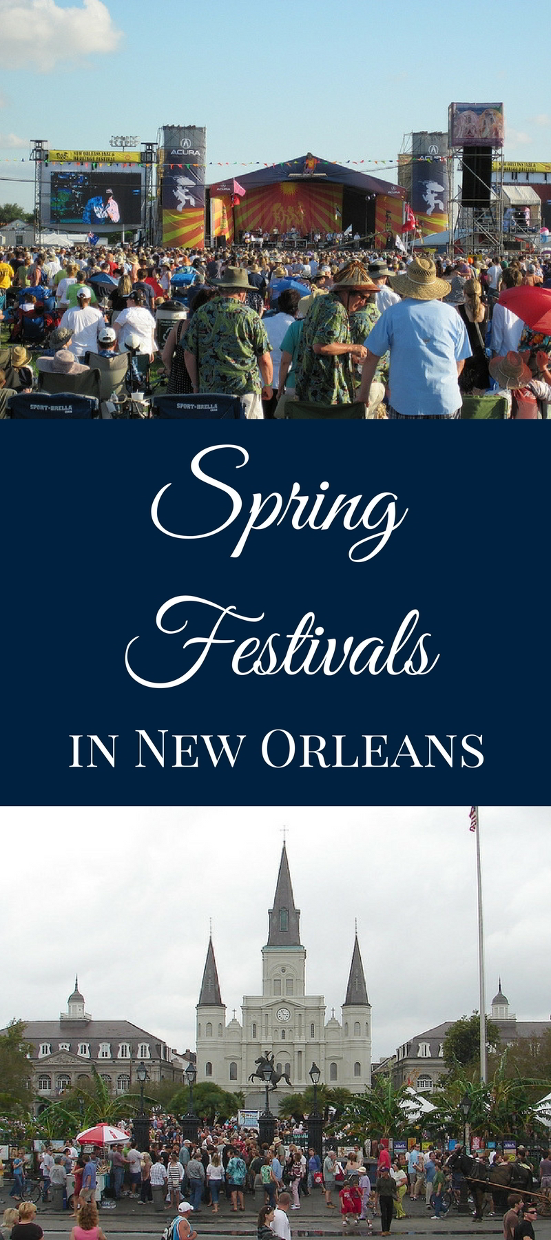 Spring is in the air and we're ready to celebrate. From St. Patrick's Day to French Quarter Festival to Jazz Fest, enjoy these New Orleans spring festivals!