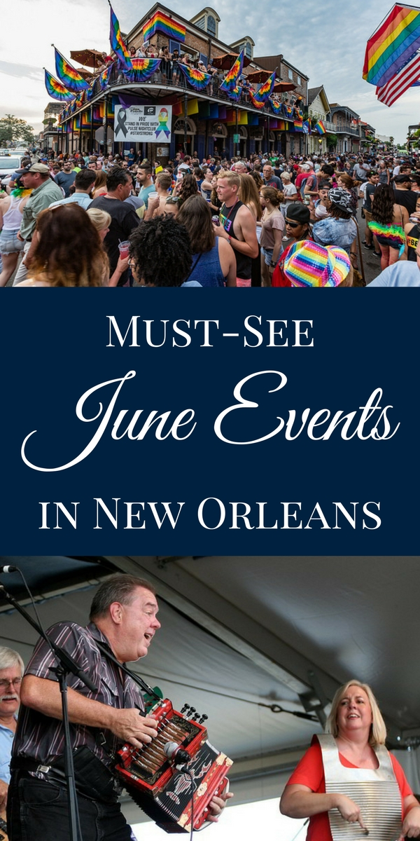 Whether you prefer to indulge in local delicacies or take in a show, there are plenty of things to do in New Orleans throughout the month of June.