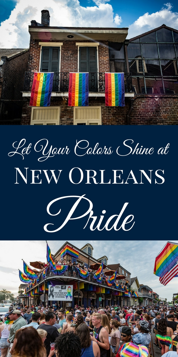 New Orleans has a long history of embracing the LGBT community. Celebrate New Orleans Pride with a weekend full of events, June 9-11, 2017. (Photos courtesy Tony Webster, via Flickr)