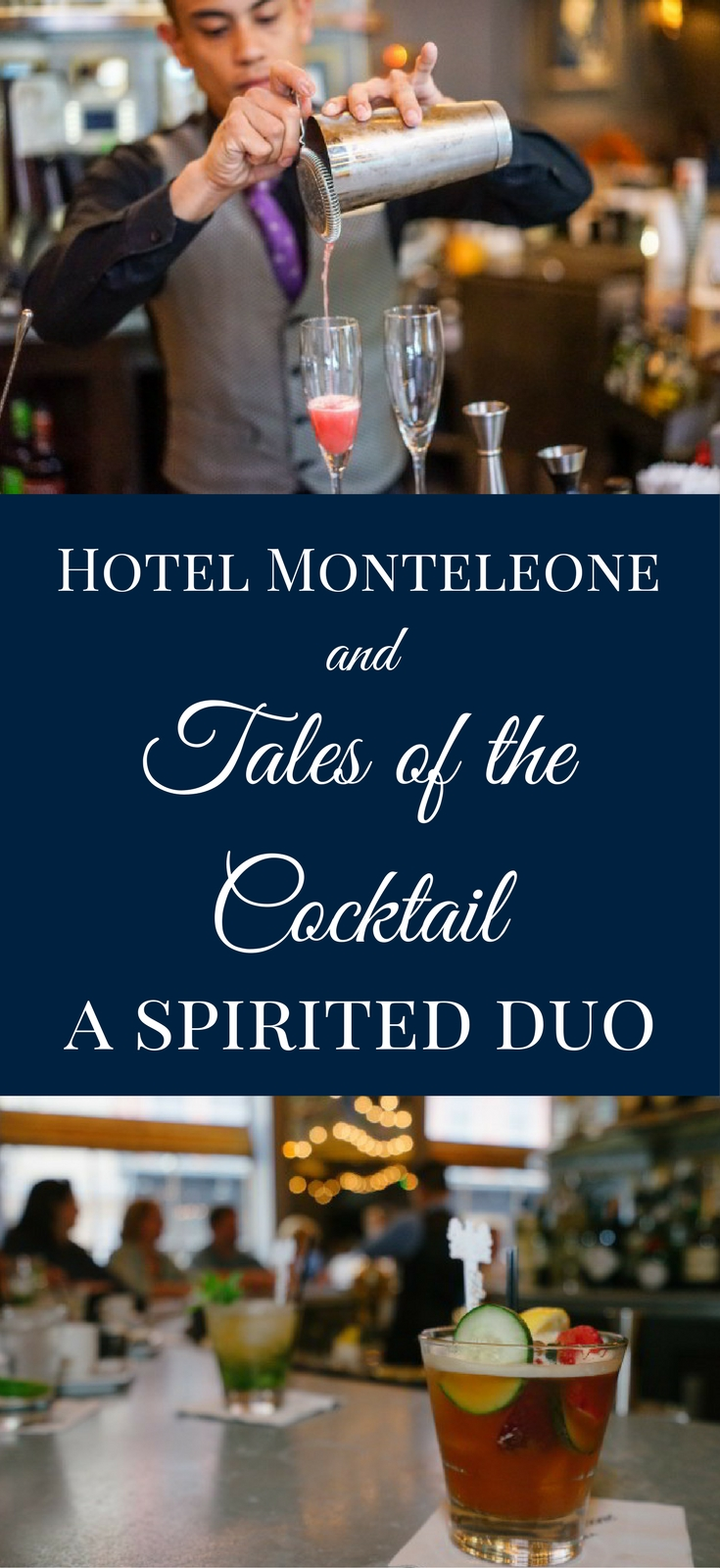 Hotel Monteleone is very excited to host Tales of the Cocktail, an annual New Orleans event which serves as the premier cocktail festival in the world.