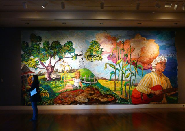 The Ogden Museum of Southern Art spolights folk art as well as contemporary artworks by artists from the southern part of the United States. (Photo courtesy Flickr user mksfca)