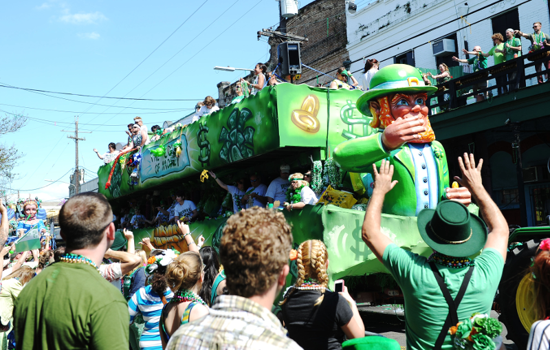 How to Celebrate St. Patrick's Day in New Orleans